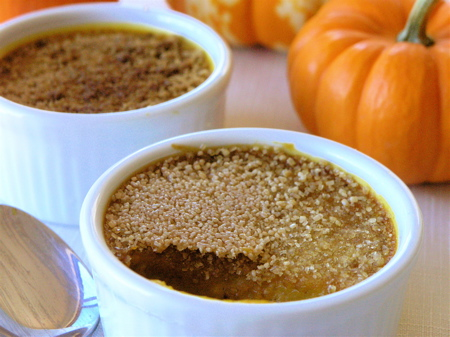 Pumpkin Cardamom Custard Crackle