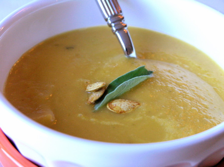 Pumpkin-Sage Soup