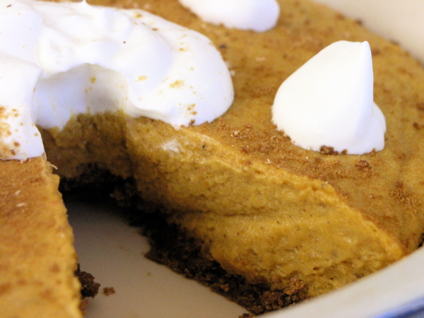 ... crust pumpkin chiffon mousse with gingersnap crust gingersnap pumpkin