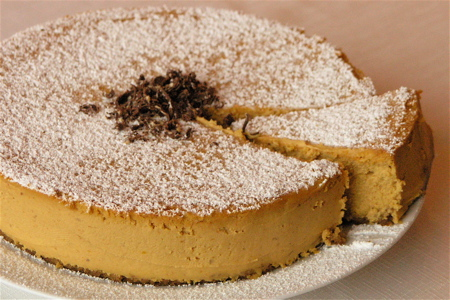 Pumpkin Mascarpone Cheesecake