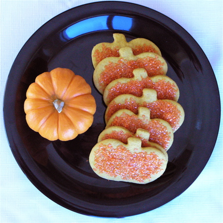 Pumpkin Spiced Cutout Cookies