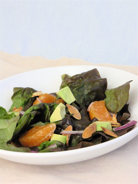 Autumn Salad with Pumpkin Seeds
