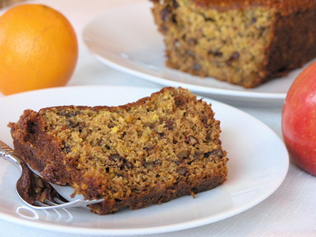 Apple-Orange-Cranberry Loaf