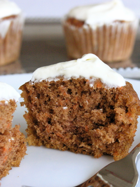 Apple Carrot Cupcakes