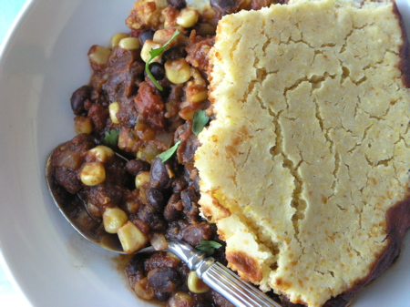 Vegetarian Chilli With Cornbread Topping Recipes — Dishmaps