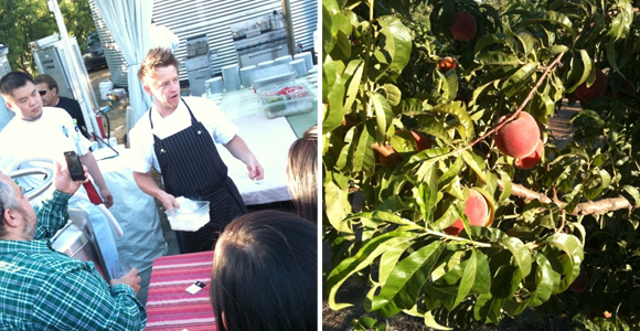 Chef Richard Blais at Frog Hollow Farm