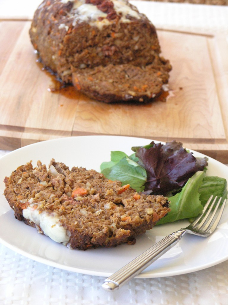 Sun Dried Tomato Pesto Meatloaf