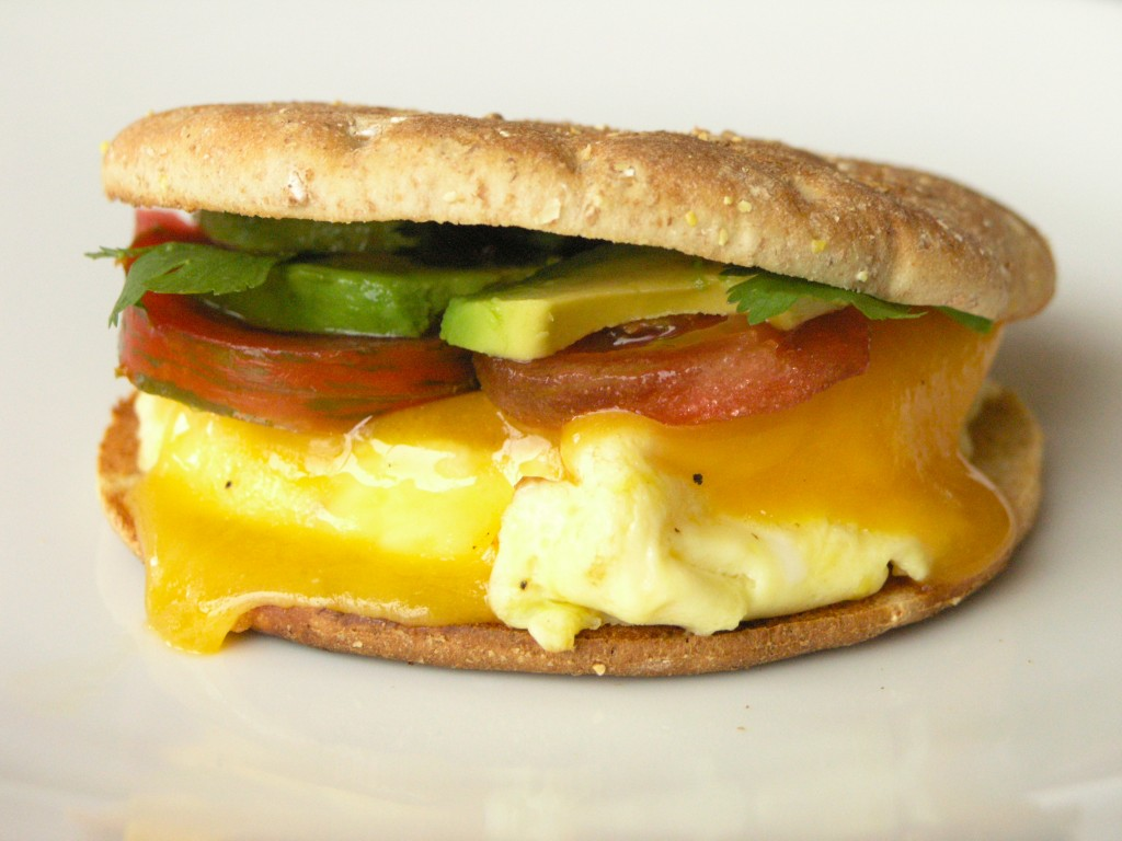 California Breakfast Sandwich | StreamingGourmet - The Blog