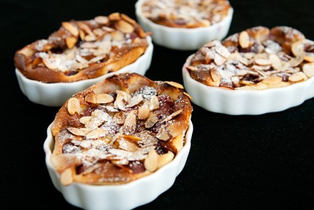 Cherry-Almond Clafoutis Recipe — Dishmaps