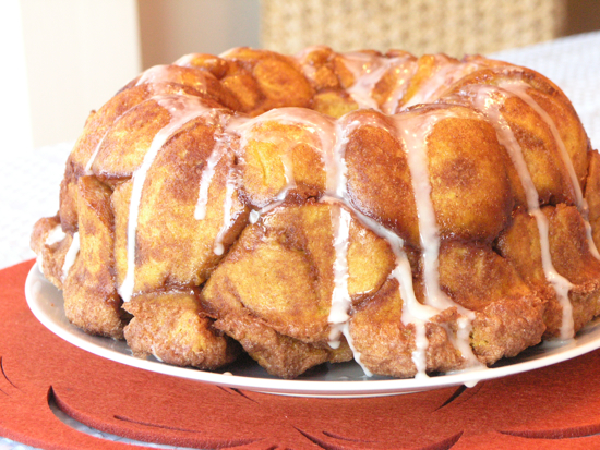 Pull-Apart Pumpkin Cinnamon Buns | StreamingGourmet - The Blog