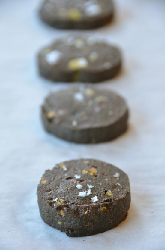 Chocolate Pistachio Sablés